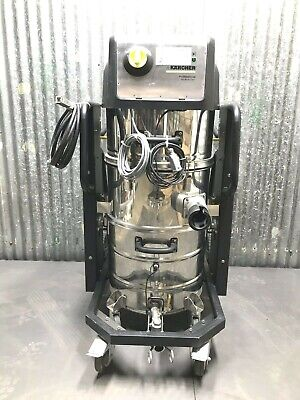 Karcher Ivc 6030 Tact2 Compact Industrial Vacuum 400-v 3000-w