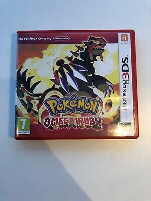 Pokémon Omega Ruby 3Ds - Tested And Working, Fast Dispatch, Read Description !!