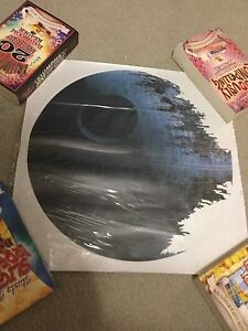 Star Wars Deathstar Wall Cling! Cambridge Kitchener Area image 1