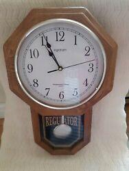 Vintage Ongraham Westminter Chime Quartz Regulator  Clock whit bell