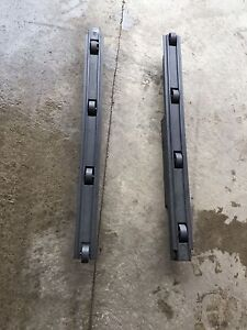 Hot tub cover rollers