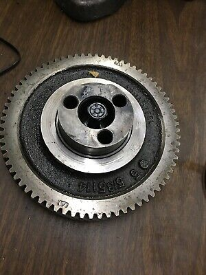 Detroit Diesel 453 Idler Left Helix Gear 5135114 With Hub Spindle 3-53 Crank