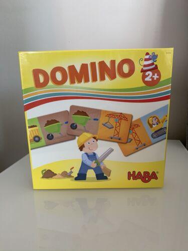 """HABA """"DOMINO-BAUSTELLE""""; AB 2 JAHRE; NEU!!!"""