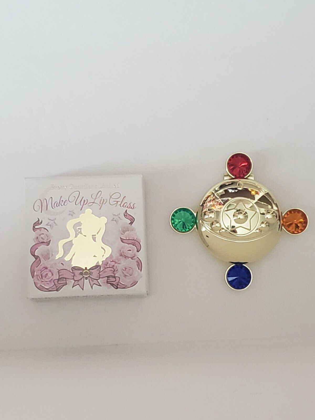 Sailor Moon Pretty Guardians Lip Gloss Official Fan Club Japan Limited Compact