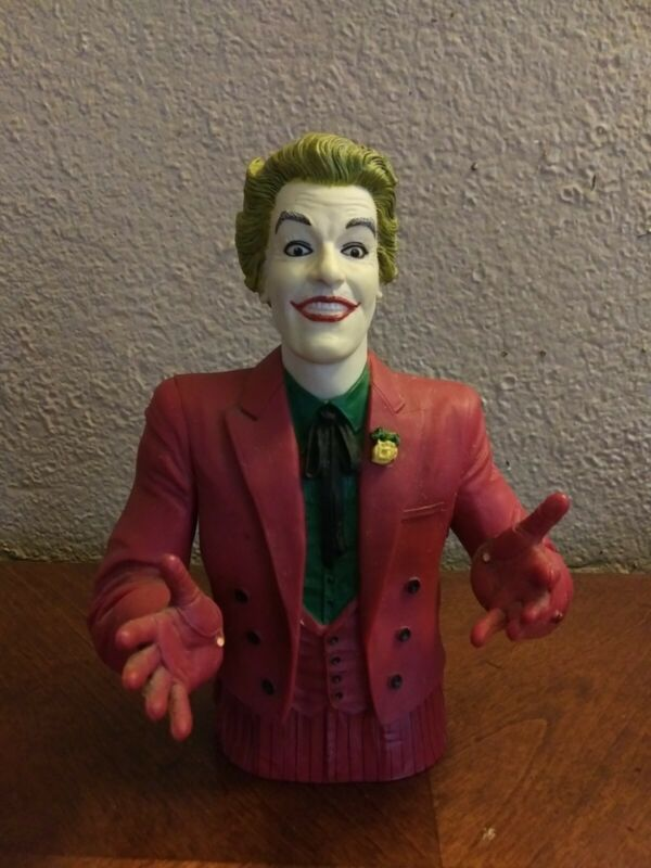 DIAMOND SELECT TOYS Batman Classic 1966 TV Series: The Joker Vinyl Bust Bank