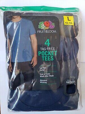 Fruit of the Loom Men's Pocket T-shirt 4pk