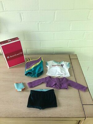 American Girl of The Year McKenna's Practice Wardrobe with Original Box