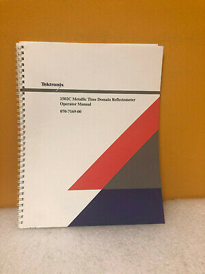 Tektronix 070-7169-00 1502c Time Reflectometer Operator Manual
