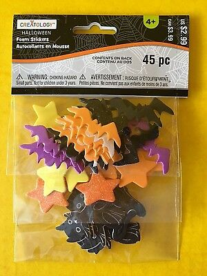 Halloween Foam Stickers 45 pc Creatology New - Creatology Halloween