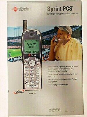 Sprint PCS - CDM 9155SP - (Sprint) Cellular Phone, New Sprint Pcs Phones