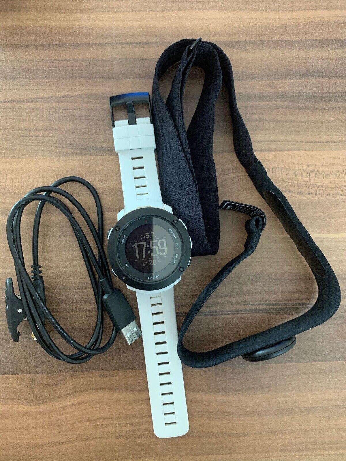 Suunto Ambit3 Vertical Barometer Multisport GPS-Uhr, weiß