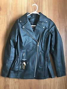 Rhino leather women's armoured bike jacket Epping Ryde Area Preview