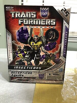 Transformers 25th Anniversary G1 Insecticons ToysRUs Exclusive Decepticon