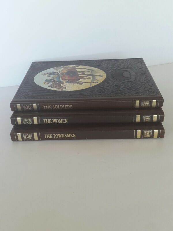 Time Life Books: The Old West Series - Set of Three  1970