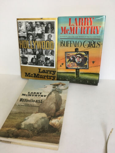 Hollywood Buffalo Girls Wandering Hill Larry McMurtry 1st Edition Pulitzer Prize