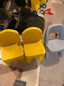 3 toddler size chairs-PPU
