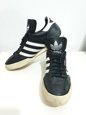 Adidas Originals SAMBA CLASSIC MENS Vintage Leather Trainers - UK Size 11