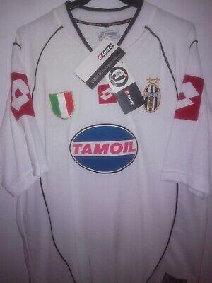 JUVENTUS 2002-2003 BNWT Tamoil camiseta shirt trikot maillot maglia lotto