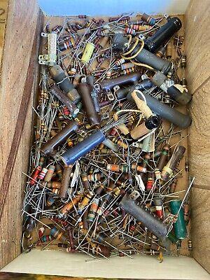 Lot Of Vintage Resistors