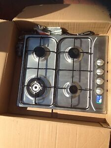 Euromaid 60cm Stainless Steel Natural Gas Built in hob (4 gas). Duncraig Joondalup Area Preview