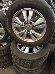 Honda tyre and rims- 215/60R16 - 95V Rocklea Brisbane South West Preview