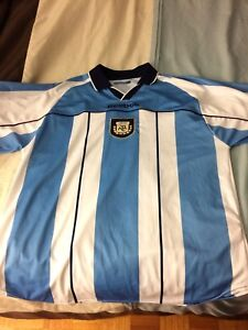 Older Argentina Official Jersey NWT