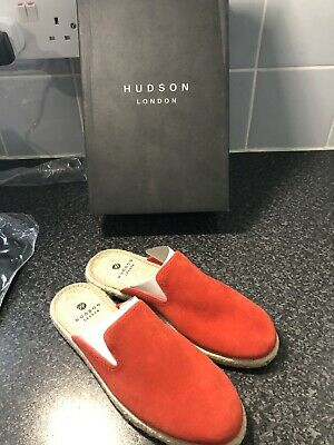 NEW Hudson Women's Chloe Suede Loafers SIZE 7