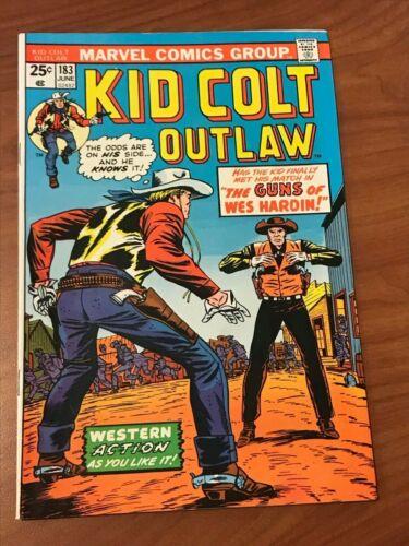 Kid Colt Outlaw #183 Marvel Comics 1974 FN/VF