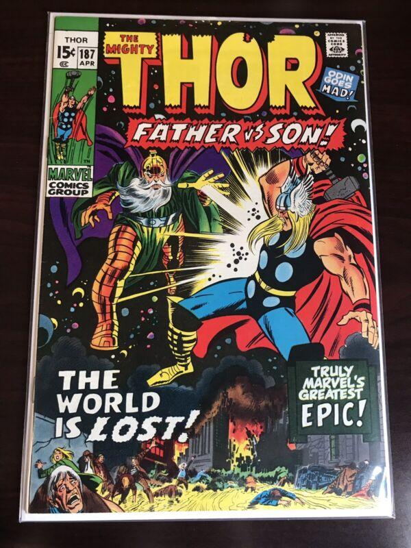 THOR #187 (1971) Key Issue~ Bronze Age