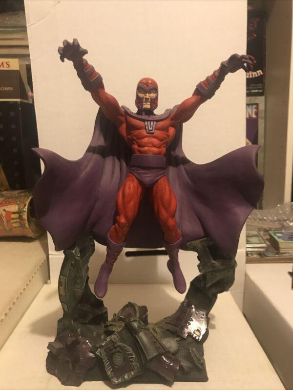 "Creative License Marvel Comics 12"" Magneto Statue XMen Sentinel Series"