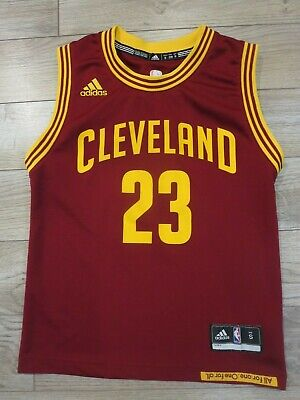 LeBron James #23 Cleveland Cavaliers NBA Finals Jersey Youth Small SM