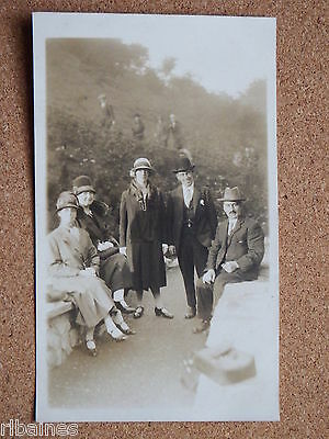 R&L Postcard: 1920's Family Outing Mens Ladies Fashion, Shoes, Hats etc - Ladies Shoes 1920s