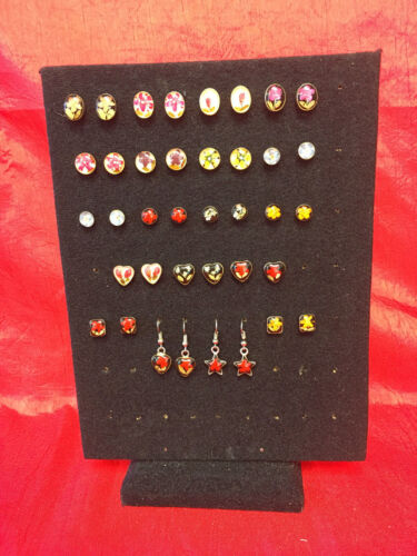 Wholesale Sterling Silver and Dried Flowers Earrings