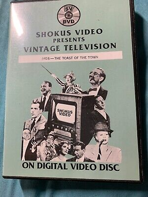 Shokus Video #416 Ed Sullivan The Toast Of The Town DVD-R ()