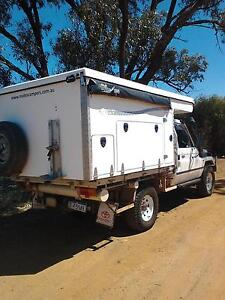 Landcruiser 79 series fitted with 2011 Tray Mate Slideon camper Manjimup Manjimup Area Preview