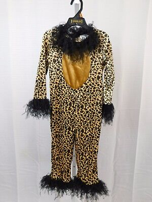Brown Kitty Infant, Toddler Halloween Costume Jumpsuit Only 2-4 Year 2T-4T #5300 (Baby New Year Halloween Costume)
