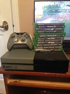 Xbox one 1tb with lots of games