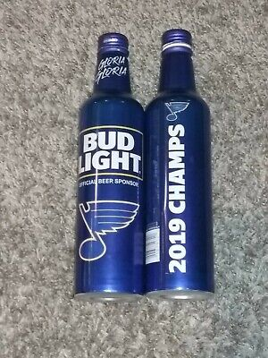 Light Cups (St. Louis Blues 2019 Stanley Cup Champion Bud Light Gloria Edition)