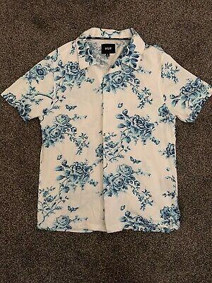 Huf Highline Woven Shirt, White, Small