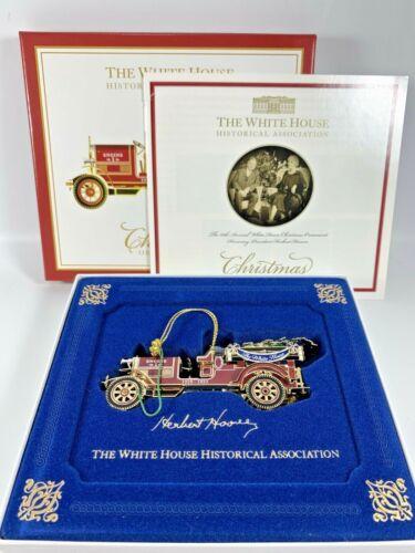 White House Historical Association Christmas Ornament 2016 Fire Truck Hoover