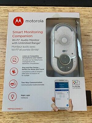 Motorola Mbp162 Wifi Digital Audio Wall Socket Bluetooth Baby Monitor