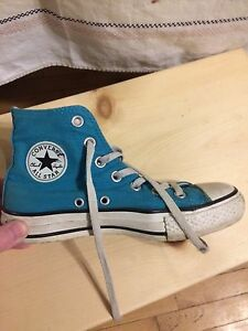 Teal Converse Women's Size 6.5