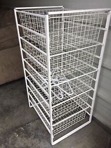 5-drawer wire rack for sale