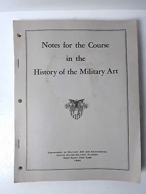 VTG 1964 Dept. of Military Art & Engineering West Point -History of Military Art