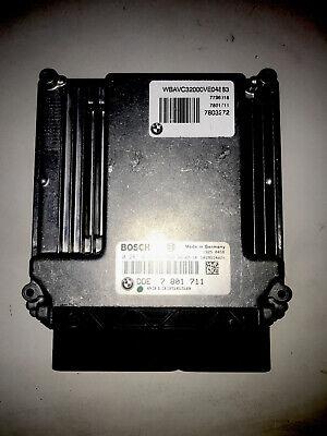 BMW E60 E87 E90 ECU ENGINE CONTROL UNIT  DDE 7801711 BOSCH