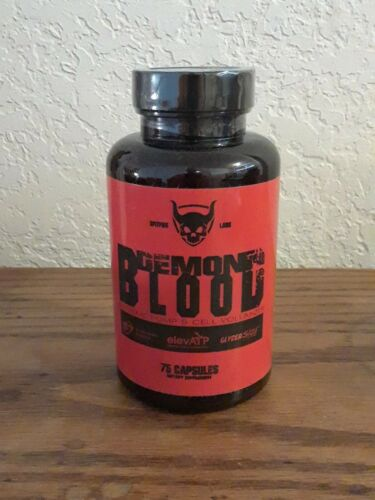 NEW!! Spitfire Labs Demons Blood pre-workout 75 caps (25 servings)