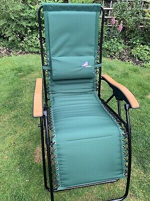 sun lounger recliner chair - used twice, excellent condition!