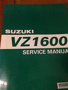 Suzuki VN1600 Marauder Service Manual