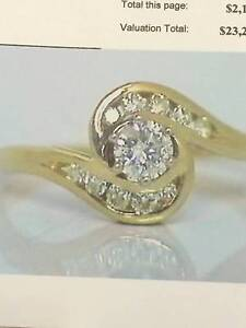 BEAUTIFUL DIAMOND RING Glanville Port Adelaide Area Preview