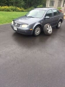 2003 VW Jetta 1.8L Turbo - selling with additional Rims/Tires